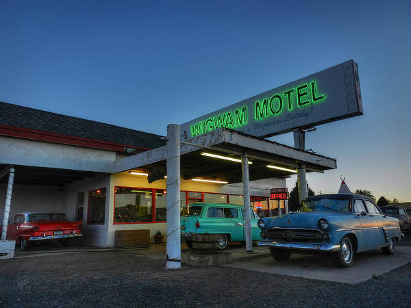 Photograph - Holbrook Az - Wigwam Motel 010 by Lance Vaughn