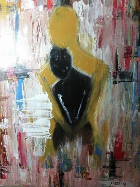 Wall Art - Painting - Hold Me by Pat Dizon