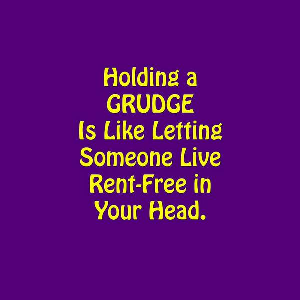 Photograph - Holding A Grudge Is Like 5438.02 by M K Miller