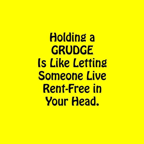 Photograph - Holding A Grudge Is Like 5439.02 by M K Miller