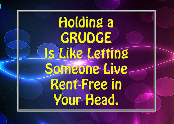 Photograph - Holding A Grudge Is Like 5440.02 by M K Miller