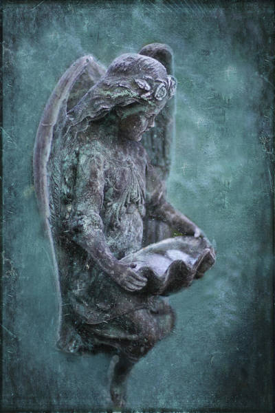 Cementery Photograph - Holding The Essence by Maria Ismanah Schulze-Vorberg