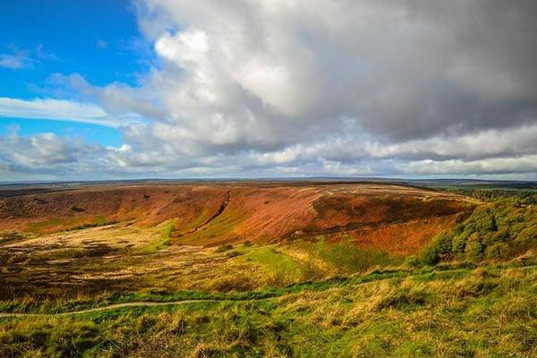 Photograph - Hole Of Horcum, North York Mores, Yorkshire, United Kingdom by Chris Coffee