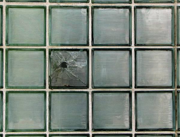 Broken Glass Digital Art - Hole In One by Ben Freeman