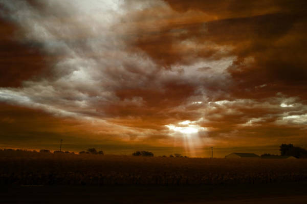 Wall Art - Photograph - Hole In The Clouds 02 by Thomas Woolworth