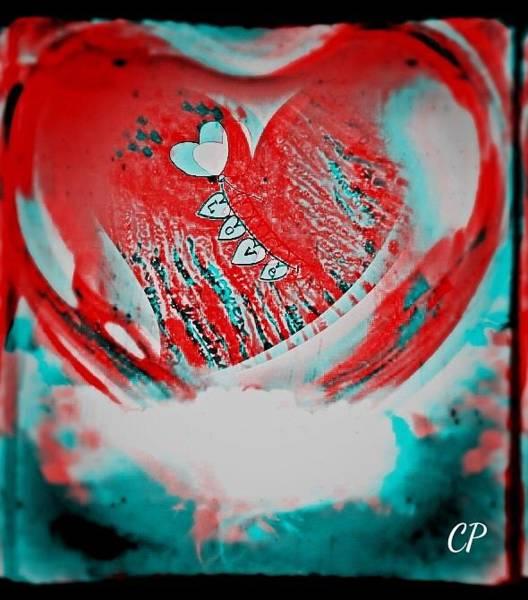 Mixed Media - Holgart Valentine by Christine Paris