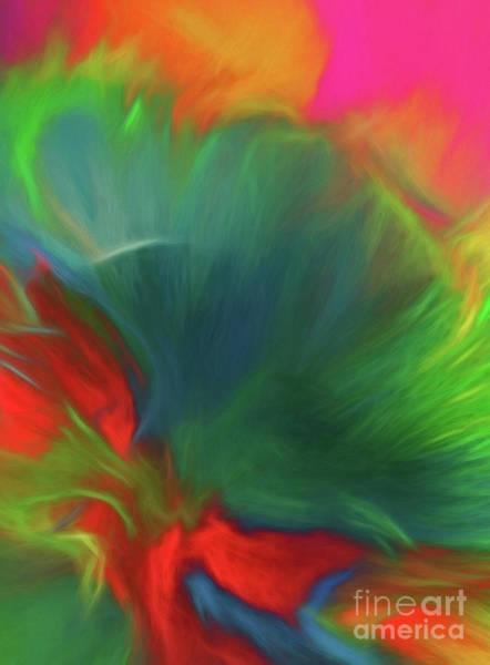 Painting - Holi Celebration Vertical by Patti Schulze
