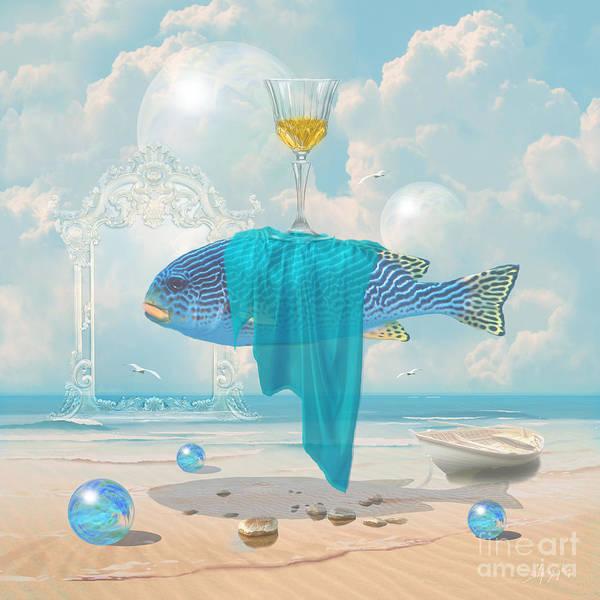 Digital Art - Holiday At The Seaside by Alexa Szlavics