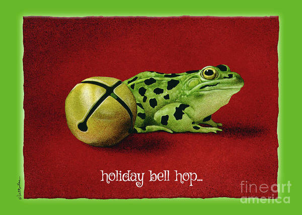 Painting - Holiday Bell Hop... by Will Bullas
