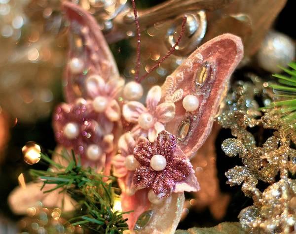 Photograph - Holiday Butterfly by Carol Montoya