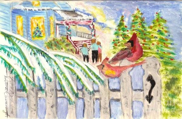 Painting - Holiday Card 05 by Donna Cavanaugh