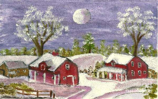 Painting - Holiday Card 06 by Donna Cavanaugh