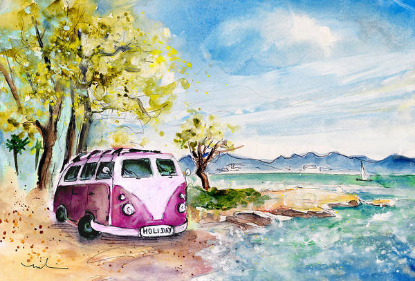 Painting - Holiday In Cala Ratjada by Miki De Goodaboom