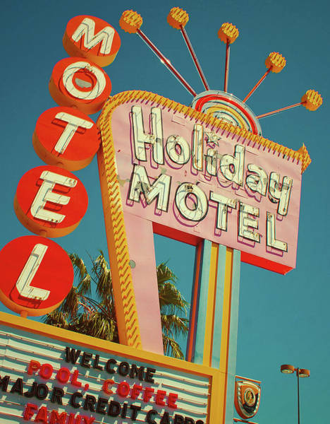 Americana Photograph - Holiday Motel, Las Vegas by Jim Zahniser