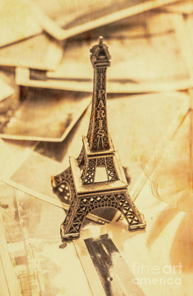 Postcard Photograph - Holiday Nostalgia In Vintage France by Jorgo Photography - Wall Art Gallery