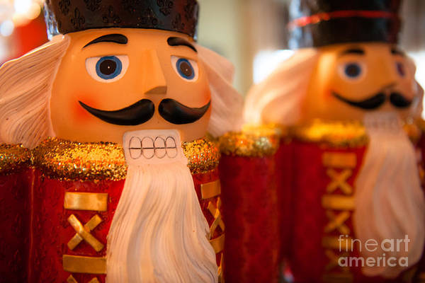 Photograph - Holiday Nutcrackers by Dale Powell