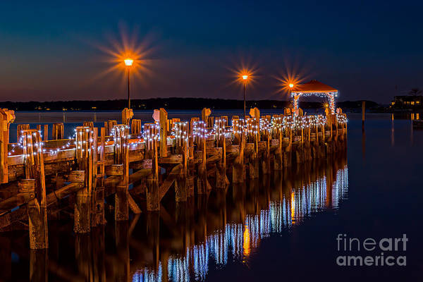 Photograph - Holiday On The Docks by Alissa Beth Photography