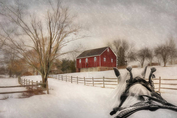 Sleigh Wall Art - Photograph - Holiday Ride by Lori Deiter