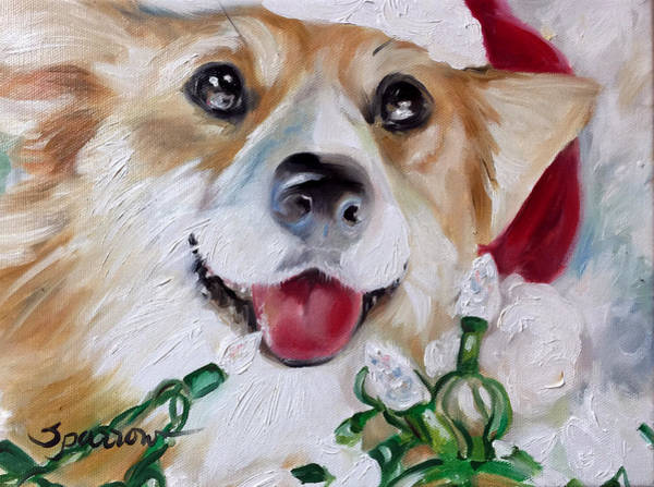 Wall Art - Painting - Holiday Season by Mary Sparrow