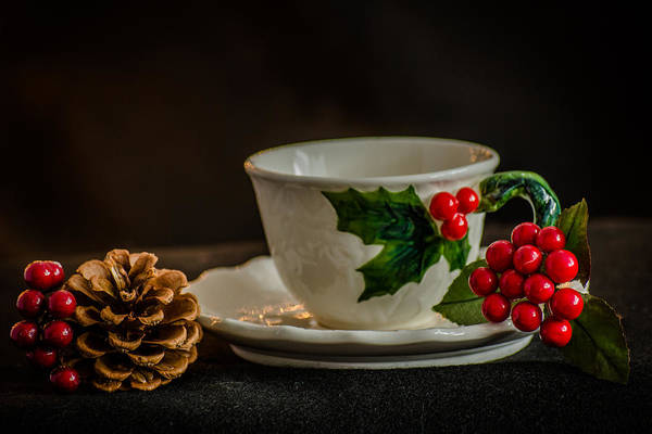 Photograph - Holiday Teatime by Stephanie Maatta Smith