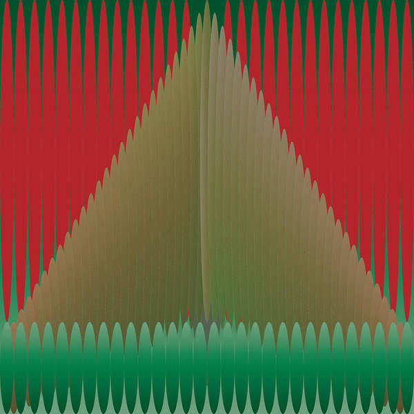 Digital Art - Holiday Tree by Kevin McLaughlin