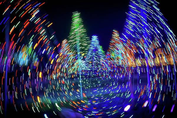 Christmas Lights Photograph - Holidays Aglow by Rick Berk