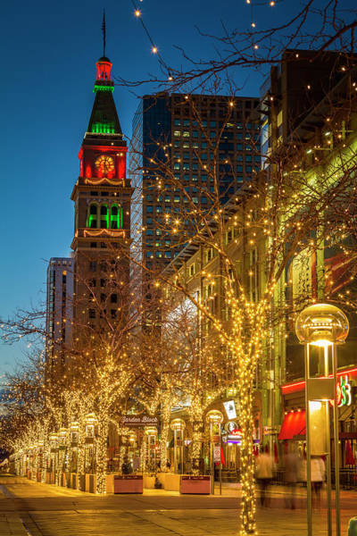 Photograph - Holidays In Denver Colorado by Teri Virbickis