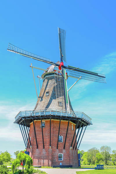 Photograph - Holland Dutch Windmill by Dan Sproul