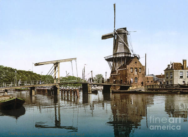 Painting - Holland: Windmill by Granger