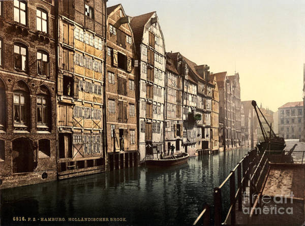 Painting - Hollandischer Brook Hamburg by Celestial Images