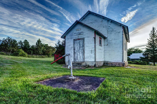 Photograph - Holleford Schoolhouse by Roger Monahan