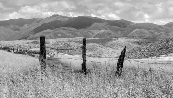 Wall Art - Photograph - Hollenbeck Fence Posts by Joseph Smith