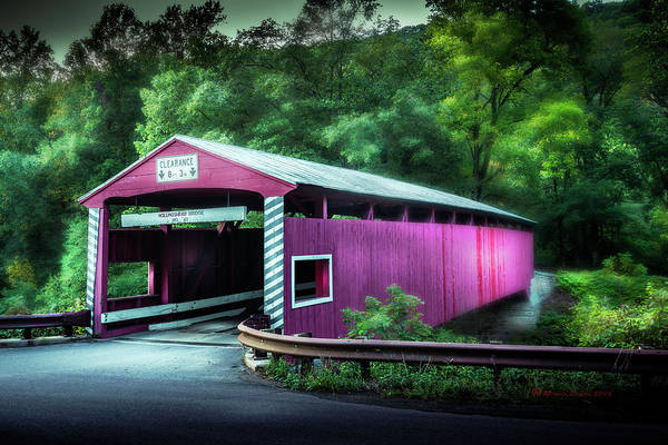 Wall Art - Photograph - Hollingshead Coverd Bridge by Marvin Spates