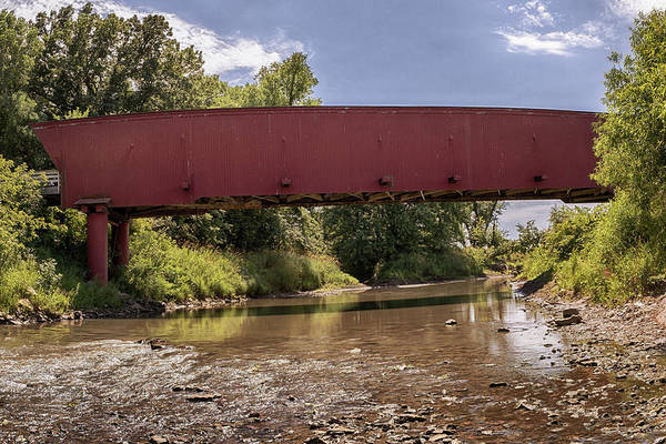 Photograph - Holliwell Covered Bridge 2 by Susan Rissi Tregoning