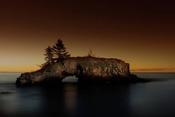 Photograph - Hollow Rock by CA Johnson