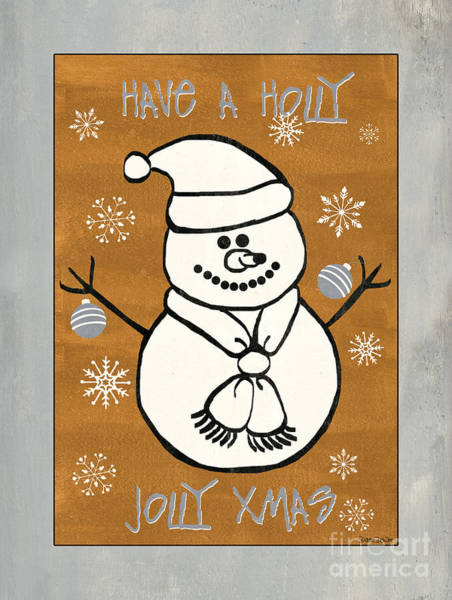 Ornaments Painting - Holly Holly Xmas by Debbie DeWitt