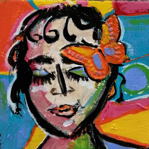 Holly - Vivid Vixen Art Print