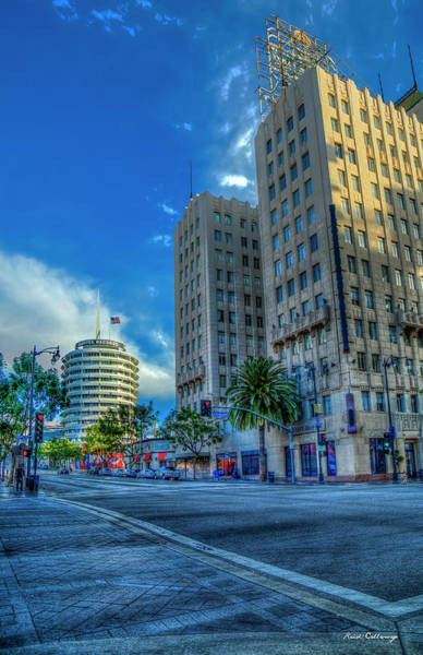 Photograph - Hollywood And Vine Los Angeles California Art by Reid Callaway