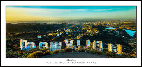 Angeles Photograph - Hollywood Dreaming Poster Print by Az Jackson