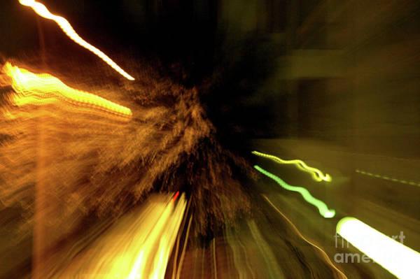 Wall Art - Photograph - Hollywood Freeway At Night 19 by Micah May