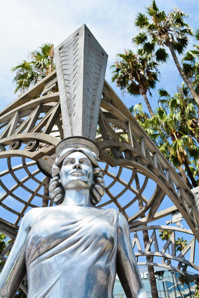 Photograph - Hollywood Gateway Monument by Kyle Hanson