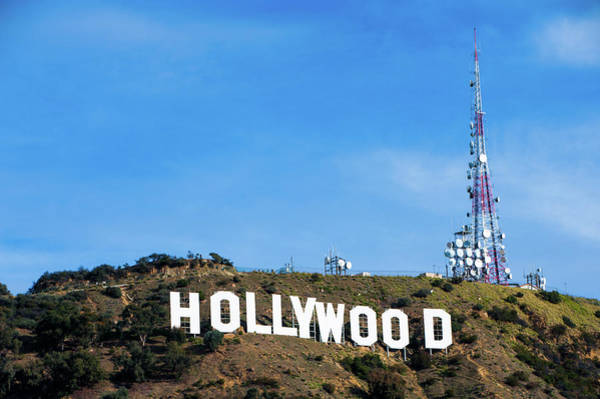 Photograph - Hollywood Hills - Los Angeles California by Gregory Ballos