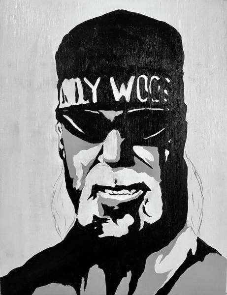 Wall Art - Painting - Hollywood Hogan by Willy Proctor