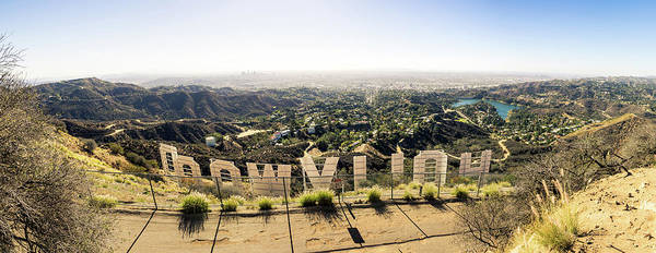 Los Angeles Skyline Photograph - Hollywood by Michael Weber