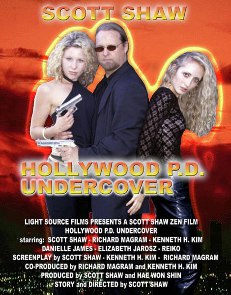 Photograph - Hollywood P.d. Undercover by The Zen Filmmaking Store