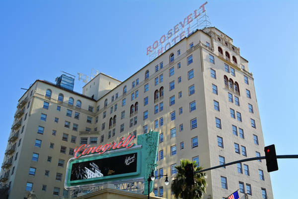 Photograph - Hollywood Roosevelt Hotel by Kyle Hanson