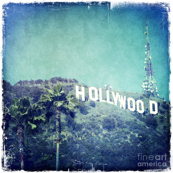 Wall Art - Photograph - Hollywood Sign by Nina Prommer