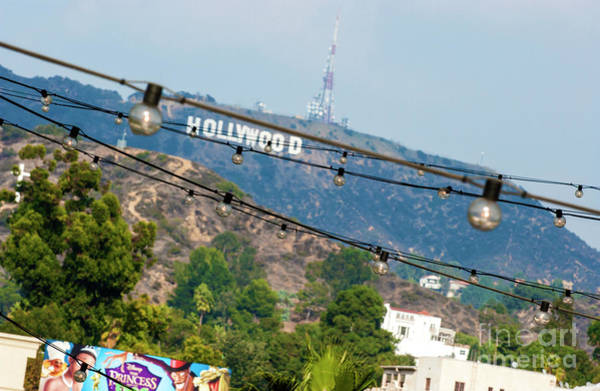 Wall Art - Photograph - Hollywood Sign On The Hill 1 by Micah May