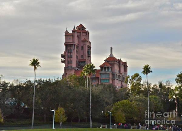 Wdw Photograph - Hollywood Studios Tower Of Terror by Carol  Bradley