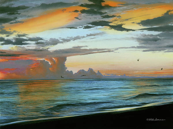 Painting - Holmes Beach by Mike Brown